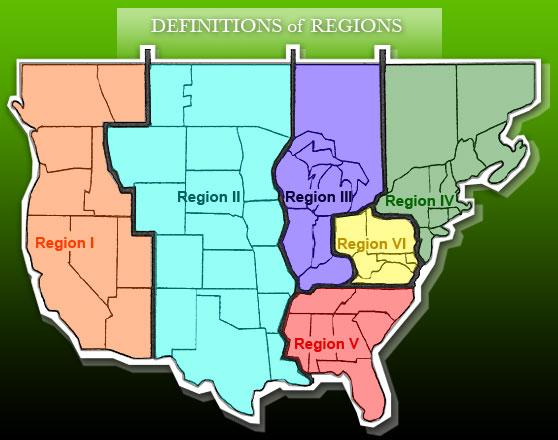 regions american association of medical dosimetrists