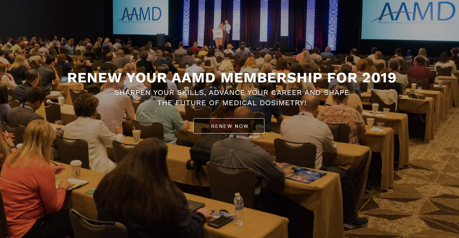 RENEW YOUR AAMD MEMBERSHIP FOR 2019